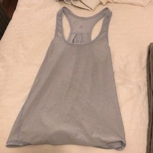 Light blue lululemon tank